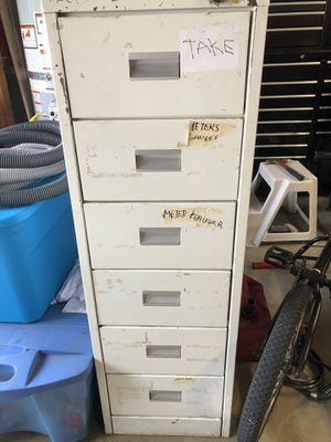 Parts file cabinet for Sale in Puyallup, WA