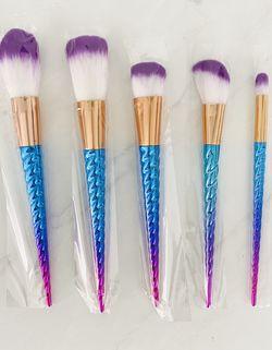 Brush Set, 5 pcs Unicorn Style for Sale in Las Vegas,  NV