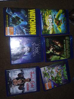 Blurry DVDs, regular a for Sale in Clarksburg,  WV