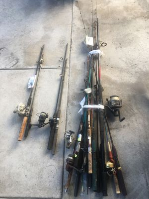 Fishing poles for Sale in South Gate, CA