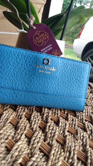 Kate Spade medium great condition like new powder blue for Sale in Kent, WA