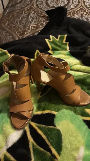 Calvin Klein leather high heels very cute at the same time Alliant for Sale in Mesa, AZ