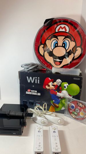 Nintendo Wii Super Mario Edition for Sale in Fort Lauderdale, FL