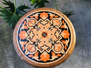 Gorgeous Antique California Mission Taylor Malibu Tile Top Table -RARE for Sale in Portland, OR