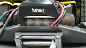 Front and rear bumpers and winch plus rim and tire for Sale in Torrance, CA