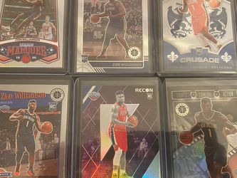 2019 Zion Williamson 6 Card Rookie Prospect Lot for Sale in Chicago,  IL
