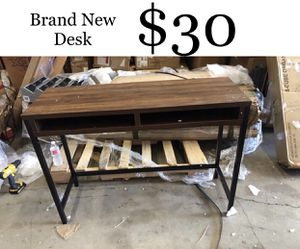 Brand New Desk (small scratch) for Sale in Fort Worth, TX