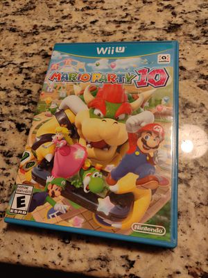 Wii U Mario Party 10 for Sale in Stoughton, MA