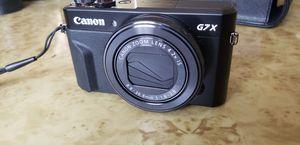 CanonPowerShot G7 X Mark II Digital Camera 20MP, wifi, Bluetooth, 4K for Sale in St. Petersburg, FL