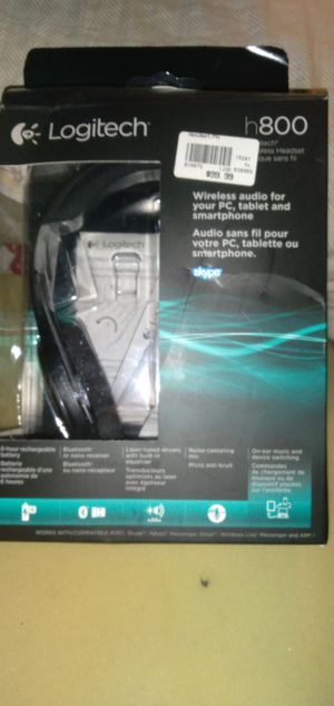 Logitech h800 wireless headset for Sale in Houston, TX