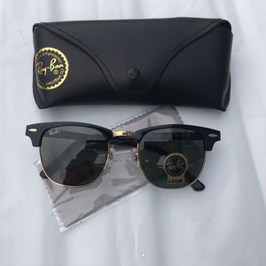 Ray Ban Clubmaster 3016 Unisex Sunglasses With Receipt for Sale in San Francisco, CA