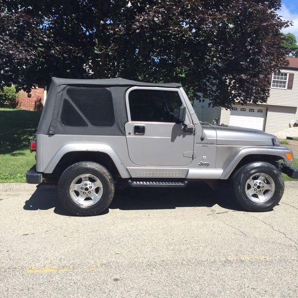 2001 Jeep Wrangler TJ.