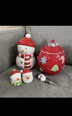Hallmark Christmas Kitchen Decor Items Lot for Sale in Alexandria,  VA
