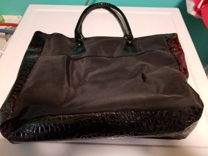 Large Black Tote Bag for Sale in Bloomingdale, IL