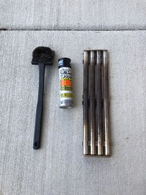 High end Grill grates, brush and cleaner for Sale in Vancouver, WA