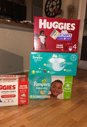Huggies & Pamper Diapers for Sale in Dallas, TX
