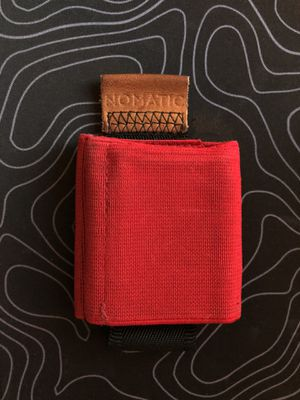 Nomatic Minimalist Red Wallet - Lightly Used for Sale in Columbia, SC