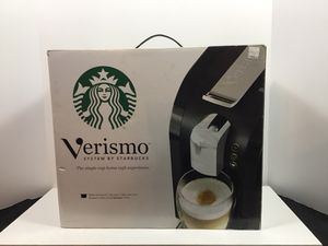 Verismo System by Starbucks / New Never Used 580 Piano Black Makes Starbucks espresso, caffeé latte and brewed coffee using Verismo pods. 10lbs. See for Sale in Fort Lauderdale, FL