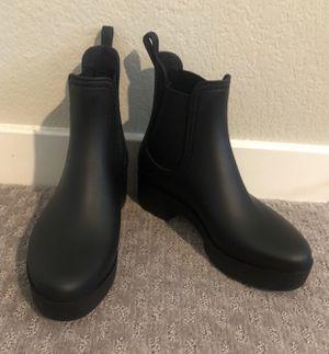Worn once Jeffrey Campbell Waterproof Chelsea rain boots. Sz 7. Mint! for Sale in Las Vegas, NV