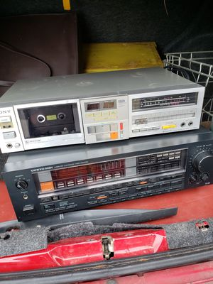 Vintage Receiver and Amplifier for Sale in Gresham, OR