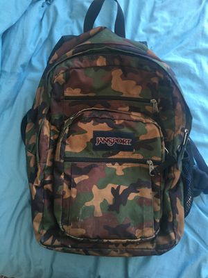 Jansport Camo Backpack for Sale in Mountain View, CA