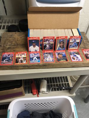 Complete sealed set of 1988 Donruss baseball cards PLUS 10 cards from 1989 in perfect Condition. for Sale in Redford Charter Township, MI