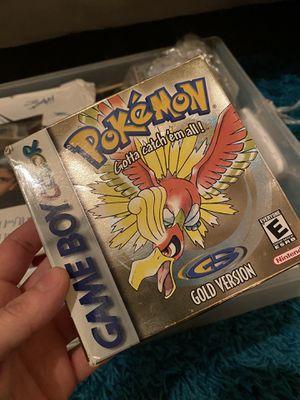 Pokémon Gold version for Sale in Lodi, CA