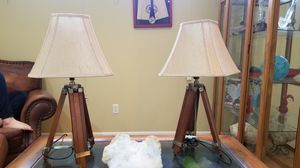 Pair of nautical-themed lamps for Sale in Puyallup, WA
