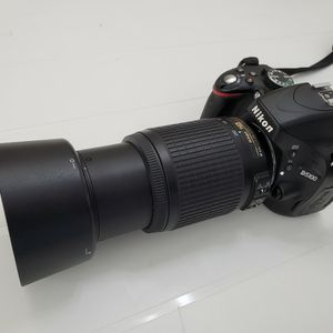 Nikon D5100 & AF-S Nikkor 55-200 mm 1:4-5.6 G ED Lens for Sale in Brandon, FL