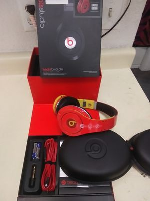100% Authentic Dr Dre Beats Studio SPECIAL EDITION 🇮🇹 By Apple Headphones New Open Box! for Sale in Las Vegas, NV