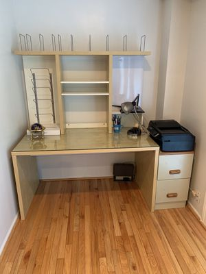 IKEA desk with organizer for Sale in Alexandria, VA