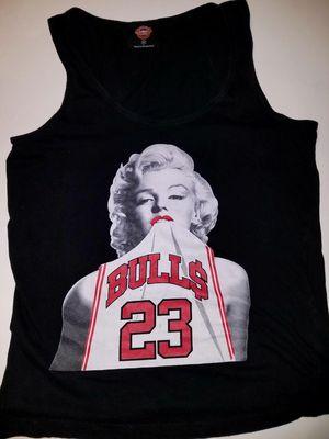 Marilyn Manroe wearing a Michael Jordan tank top for Sale in Peshastin, WA