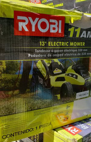 "Ryobi electric mower 13"". for Sale in DEVORE HGHTS, CA"