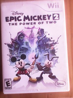 Epic Mickey 2 : The power of two : Nintendo wii for Sale in Glendale, AZ