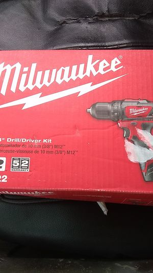 Milwaukee M12 3/8 Drill/Driver for Sale in Westminster, CO