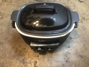 Crock pot stove stop combo works perfectly used for Sale in Santa Maria, CA