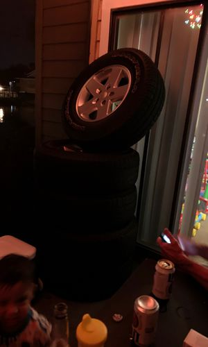 Jeep Wrangler Tires/wheels for Sale in Tampa, FL