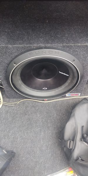 10in and 12 in subwoofer for Sale in McGregor, TX