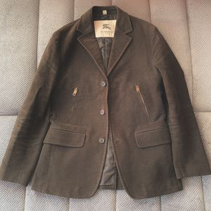 Burberry Olive Faux Suede Sport Jacket 40R for Sale in Miami, FL