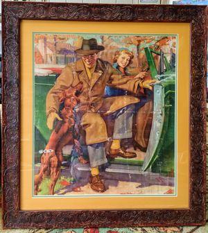 Mid Century media depiction of American Dream. for Sale in San Luis Obispo, CA