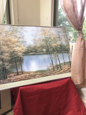 """Autumn Woods"" Fine Art Print by Diane Romanello for Sale in Germantown, MD"