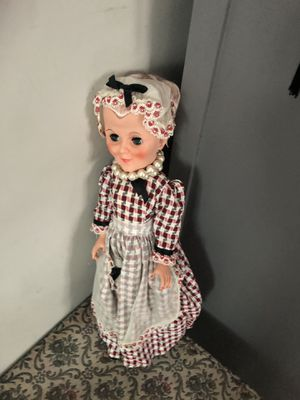 Old antique doll for Sale in Alton, IL