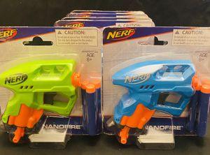 Lot of 6 New Nerf Nanofire Guns for Sale in San Antonio, TX