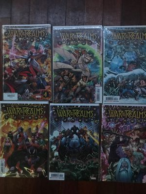 Marvel Comics: War of the Realms Complete Story for Sale in Richmond, CA