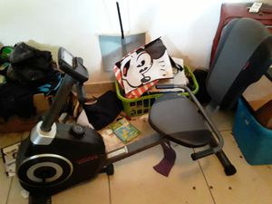 Brand new we slow exercise bike digital speed and distance readouts. for Sale in Hollywood, FL