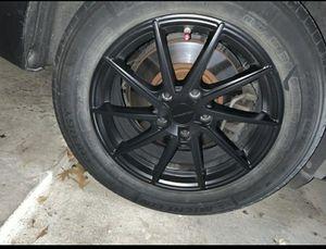 Rims (BMW) Liquid Metal Satin Black 17 inch for Sale in Dallas, TX
