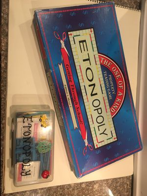 Etonopoly for Sale in Woodinville, WA