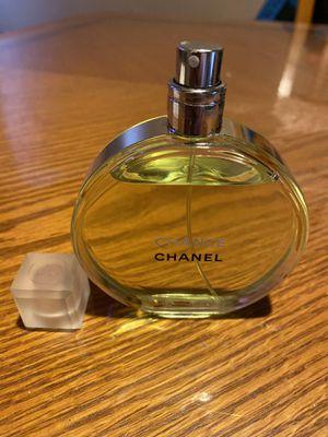 Chanel Chance Eau Fraiche Eau De Toilette 3.4 Oz. Tester (BOTTLE ONLY, NO TESTER BOX)100% AUTHENTIC! WOMEN PERFUME (BRAND NEW) PLEASE READ DESCRIPTION for Sale in Philadelphia, PA