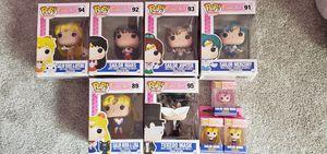 Funko Pop! Sailor Moon vinyl figurines (some sold, please read ad!) for Sale in Des Plaines, IL