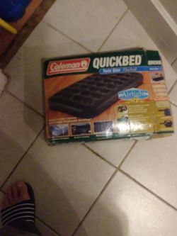 Coleman Quickbed Twin Size air mattress for Sale in Meriden,  CT